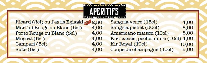 aperitifs locaux les tontons flingueurs restaurant bayonne centre ville